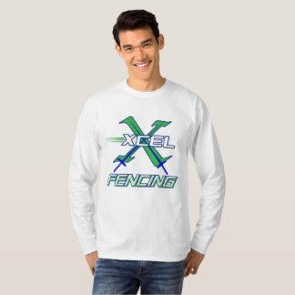 Xcel Fencing Team • Men's Long Sleeve T-Shirt