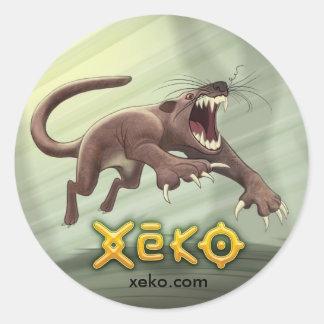Xeko Fossa Sticker