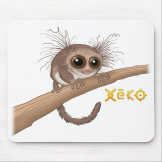 Xeko Hairy-Eared Dwarf Lemur Mousepad