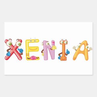Xenia Sticker