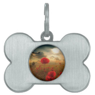 XH558 Tribute Pet Name Tag