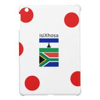 Xhosa Language And South Africa/Lesotho Flags Cover For The iPad Mini