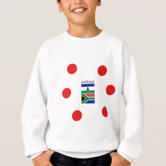 Xhosa Language And South Africa/Lesotho Flags Sweatshirt