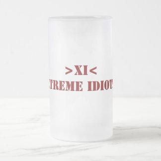 >XI< Beer Mug