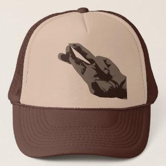 XI fingers Trucker Hat