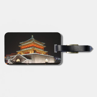 Xi'an Bell Tower Luggage Tag