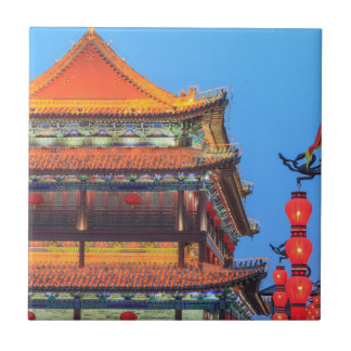 Xi'An City Wall Building Tile