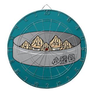 Xiaolongbao Chinese Soup Dumpling Dim Sum Bun Dartboard