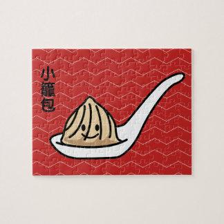 Xiaolongbao Chinese Soup Dumpling Dim Sum Bun Jigsaw Puzzle