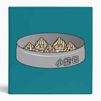 Xiaolongbao Chinese Soup Dumpling Dim Sum Bun Vinyl Binder