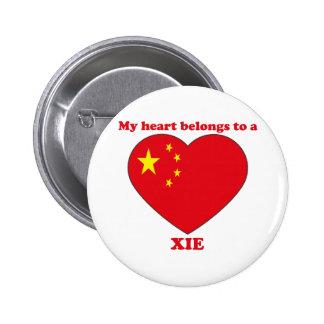 Xie 2 Inch Round Button