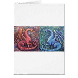 Xin Dragons Card