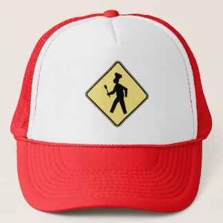 Xing chief! Cross of chief! Trucker Hat