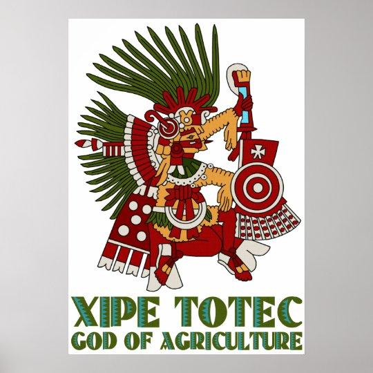 Xipe Totec Poster