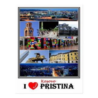 XK Kosovo - Pristina - Postcard