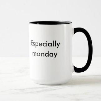 """XL Mug """"Mornings suck especially monday"""""""