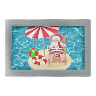 xmas beach santa claus belt buckles