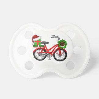 xmas bike pacifier