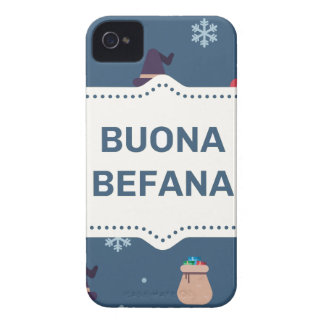 xmas buona Befana Case-Mate iPhone 4 Case