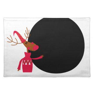 Xmas deer edition placemat