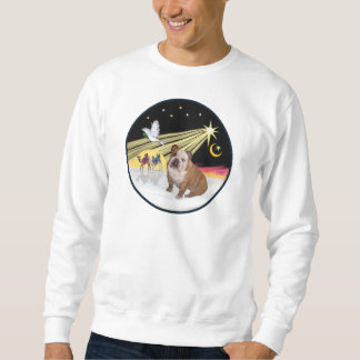 Xmas Dove (R) - English Bulldog 1 Sweatshirt