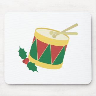Xmas Drum Mouse Pad