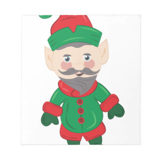 Xmas Elf Notepad
