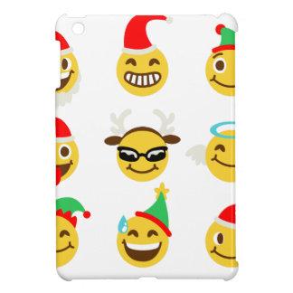 xmas emoji happy faces iPad mini covers