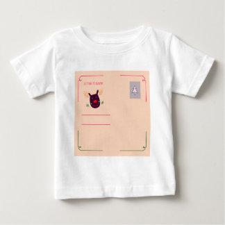 Xmas greeting kids design baby T-Shirt