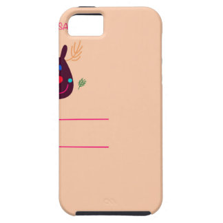 Xmas greeting kids design case for the iPhone 5