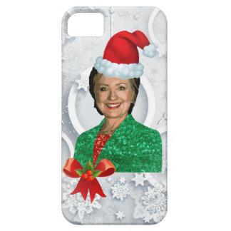 xmas Hillary clinton iPhone 5 Cover