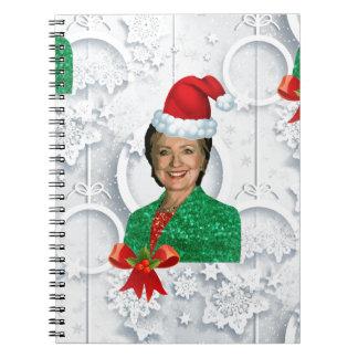 xmas Hillary clinton Notebooks