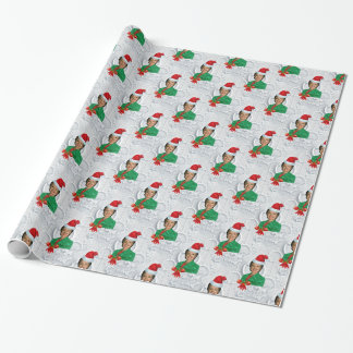 xmas Hillary clinton Wrapping Paper