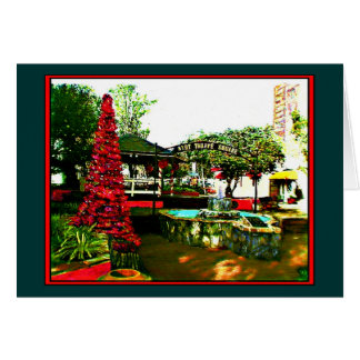 Xmas in Florida The MUSEUM jGibney Greeting Card