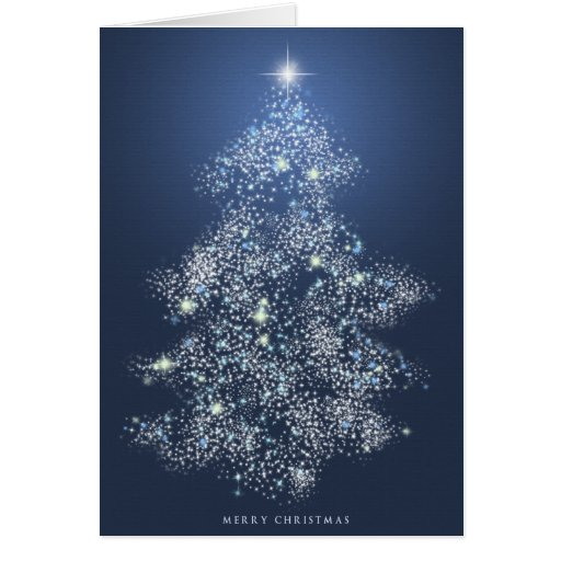 Xmas Lights Greeting Cards