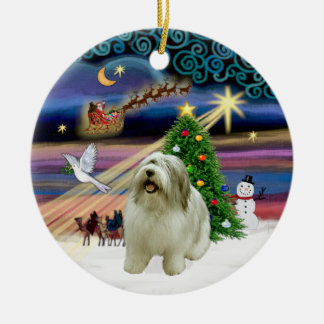 Xmas Magaic - Polish Lowland (PON) 2 Ceramic Ornament