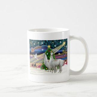 Xmas Magic - 2 Llamas Coffee Mug