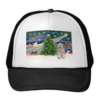 Xmas Magic-WheatenTerrier-standfront Trucker Hat