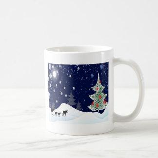 Xmas Moose Coffee Mug