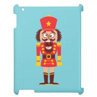 Xmas nutcracker breaks its teeth and goes nuts iPad cover