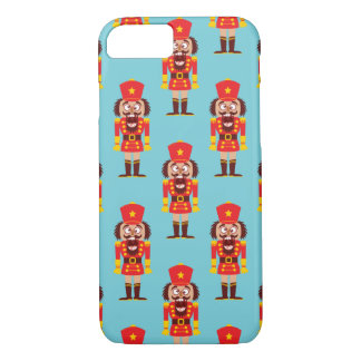 Xmas nutcracker breaks its teeth and goes nuts iPhone 8/7 case