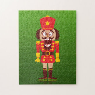 Xmas nutcracker breaks its teeth and goes nuts jigsaw puzzle