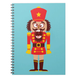 Xmas nutcracker breaks its teeth and goes nuts notebook