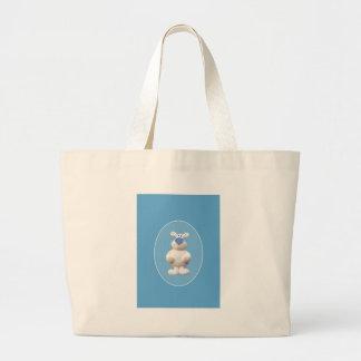 Xmas Polar Bear Jumbo Tote Bag