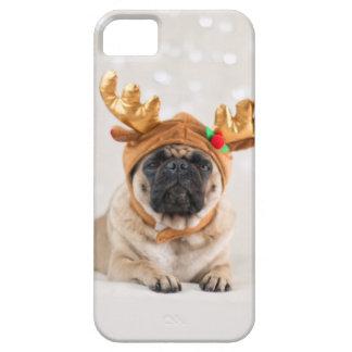 XMas Pug iPhone 5 Case