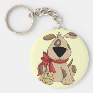 Xmas Puppy Key Chain
