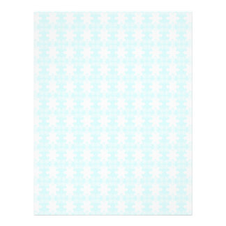 xmas snowflakes. Light Blue-white Letterhead