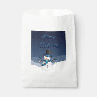 Xmas Snowy Favour Bag