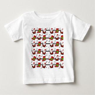 Xmas song pattern baby T-Shirt