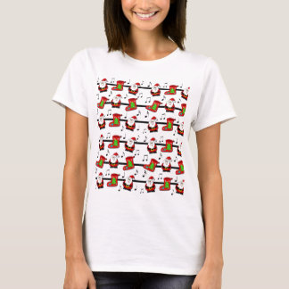 Xmas song pattern T-Shirt